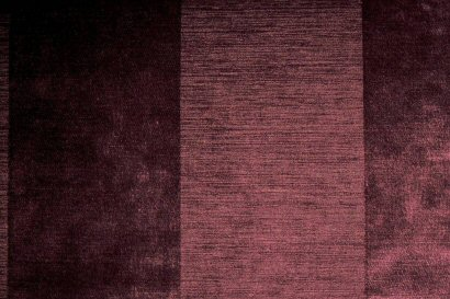 Plum Wide Stripe Chenille
